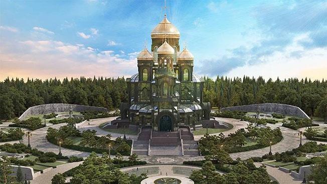 Символ духовности русского воинства