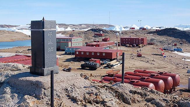 Китайские «рестораны» в Антарктиде