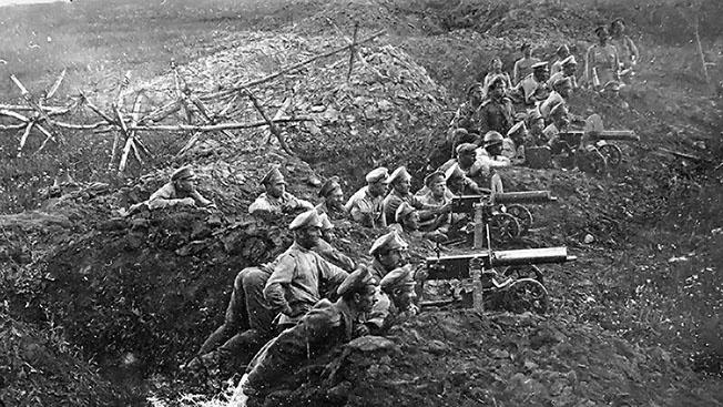 Штурмовики Первой мировой: с дубинками на пулеметы