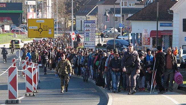 Мигранты «катят» на Европу
