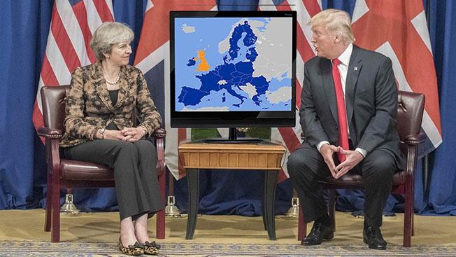 Англосаксы уже не могут и не хотят видеть Европу объединенной