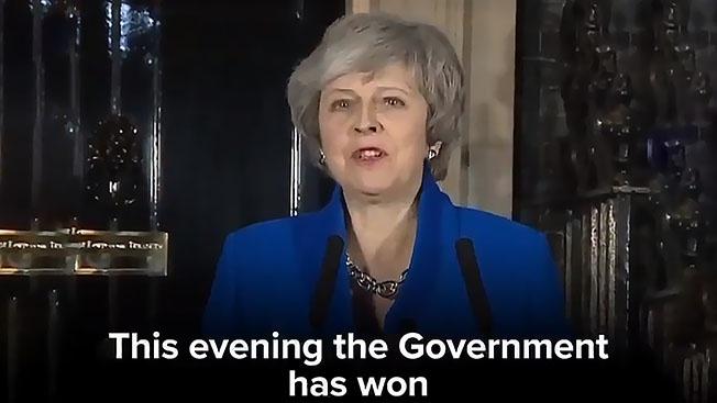 Тереза Мэй проиграла голосование по Brexit, но осталась в кресле премьера