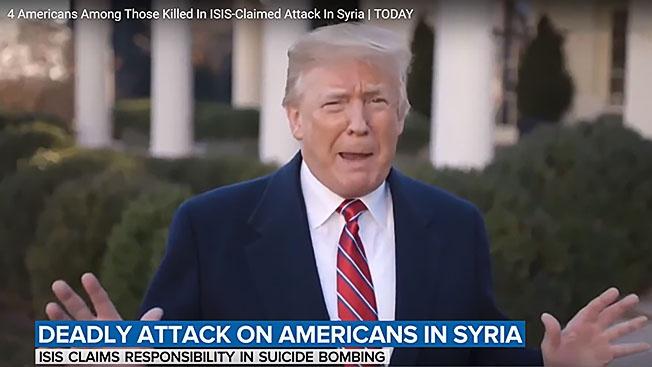 «Исламское государство» прислало Трампу «черную метку»