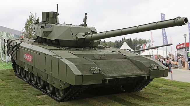 Дополнительная мера: как перезаряжается пулемет танка «Армата»