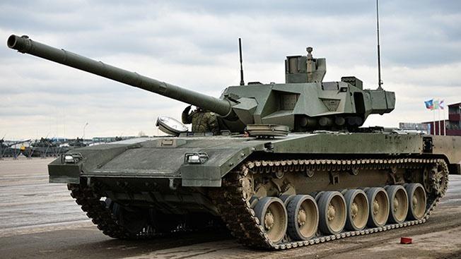 Обновленные танки «Армата» поступят в войска