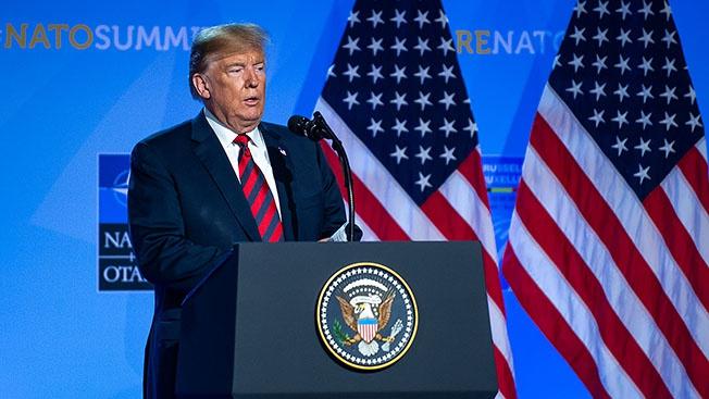 Дональд Трамп: «Если НАТО распадется, то так тому и быть»