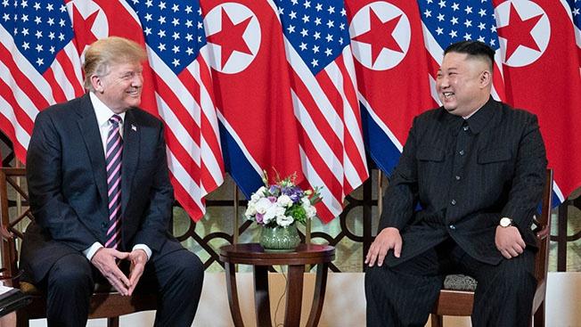 Трамп и Ким: разошлись, не отобедав