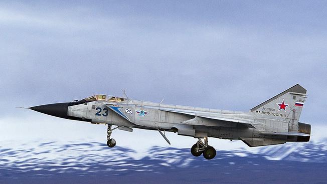 Российские лётчики успешно провели учения над островом Врангеля