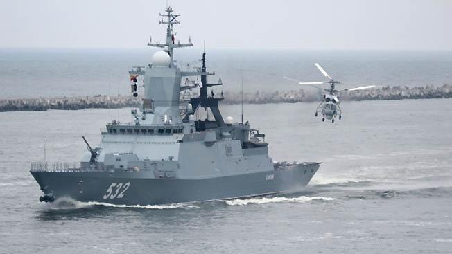 Корвет «Бойкий» и за натовскими кораблями присмотрит и себя покажет