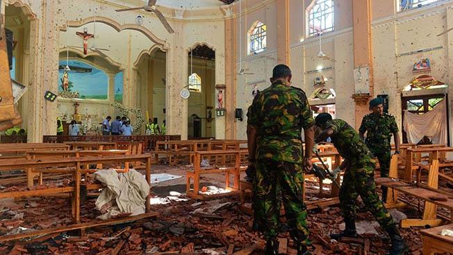 Шри-Ланка: шерханы террора