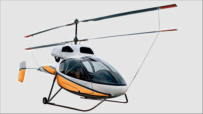 Сверхлёгкий российский вертолёт R-34 покорил Helirussia-2019