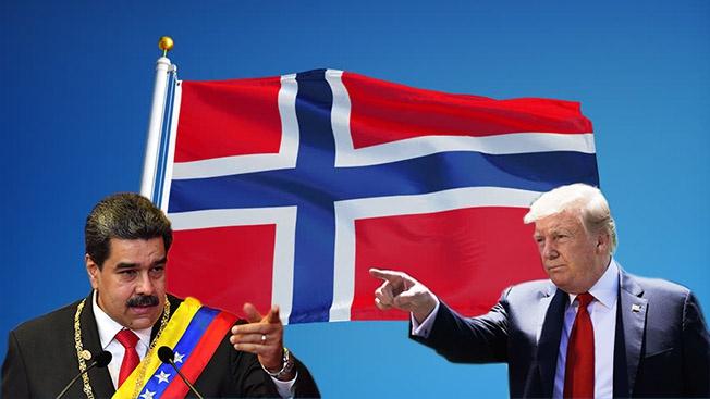 Норвегия спешит на помощь. США? Венесуэле? Или самой себе?