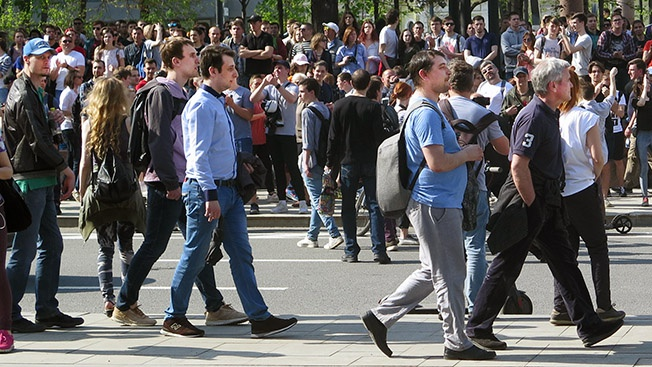 В России создана технология, позволяющая определить настроение каждого человека в толпе