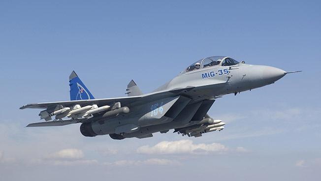 Российский истребитель-перехватчик МиГ-35 готов пойти в серию
