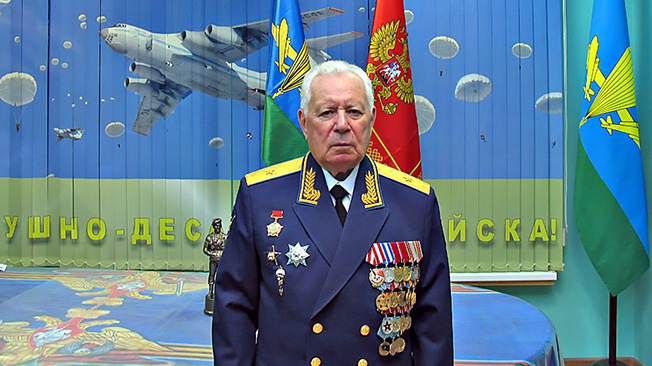 Генерал-майор Владимир Данильченко: «Служба в ВДВ - лучшая проверка на прочность. Десантники занятые позиции не сдают»