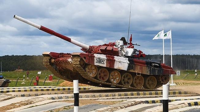 Рекорд за рекордом: российские танкисты стали самыми быстрыми в «Танковом биатлоне»