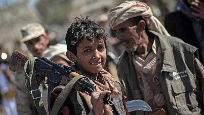 Вашингтон, Лондон и Париж способствуют массовому истреблению мирного населения, детей, стариков и женщин в Йемене