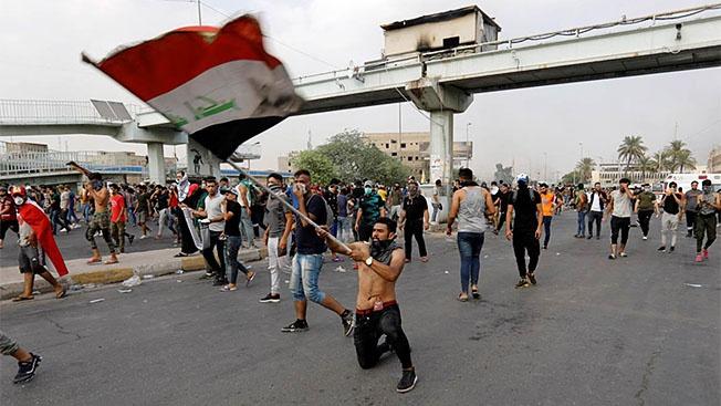 В Багдаде и других городах Ирака всё очень неспокойно