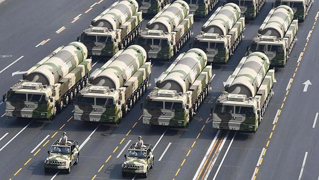 Ядерный щит по обе стороны великой русско-китайской стены