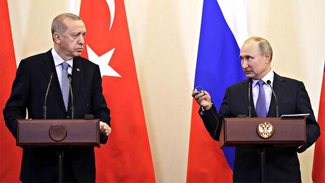 Путин затормозил новый виток войны в Сирии
