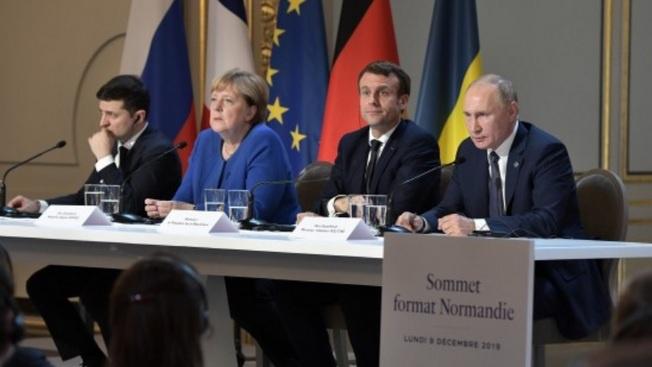 Нормандская четвёрка: Зеленского не стали добивать, а Украину объявлять недоговороспособной