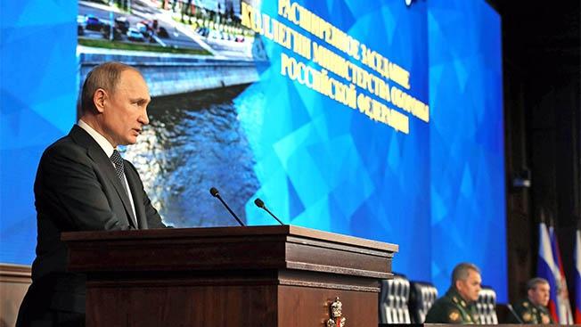 Путин: Вооруженные Силы РФ являются гарантом стабильности в Сирии