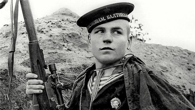 Иван Антонов: краснофлотец, снайпер и тральщик России
