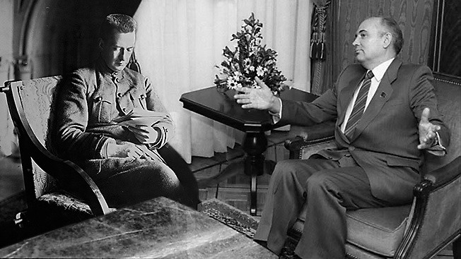 Керенский и Горбачёв - предатели и фигляры. Только ли?