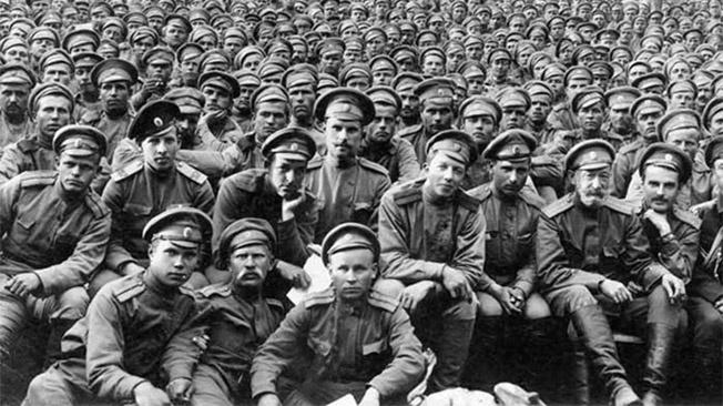 По своему составу Белая армия была рабоче-крестьянской