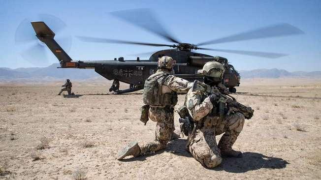 «Немецкая слобода» в Афганистане прикрывает американцев