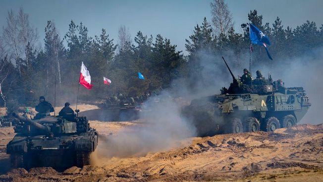 «Чумные» манёвры НАТО в Латвии