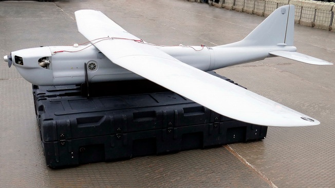 Орлан-30 - лучший друг артиллерии