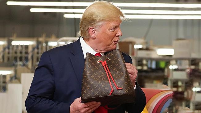 Трамп пошёл войной на сумочки Louis Vuitton