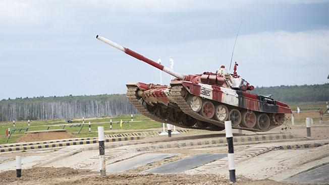 «Танковый биатлон»: нам нужна одна победа!