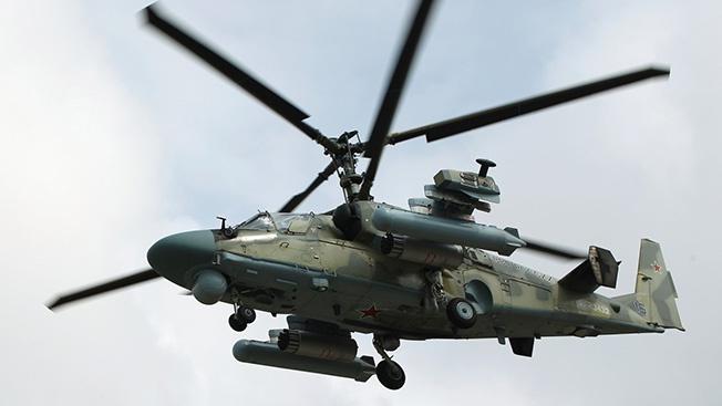 Штурмовой винтокрыл Ка-52М готовится встать в строй