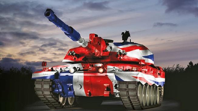 Остров Британия слишком мал для танков?