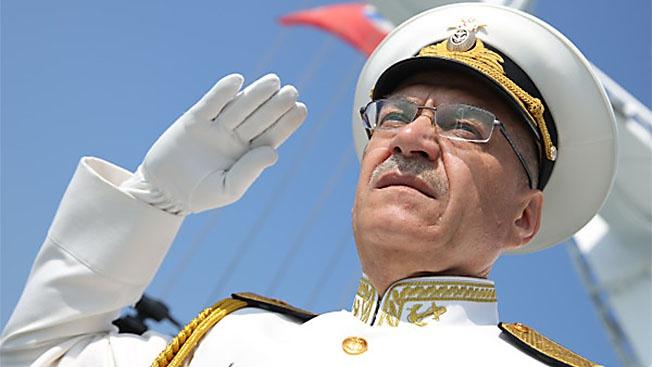 Контр-адмирал Виктор Кочемазов: «Моряки-новороссийцы готовы к действию при любом развитии ситуации»