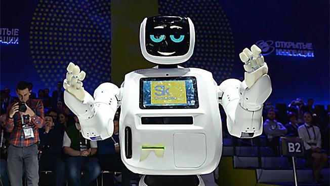 В России делают роботов для... Японии