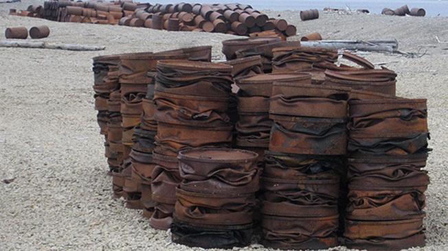 Минобороны РФ намерено вывезти в 2018 году  свыше двух тысяч тонн металлолома с полигона на Новой Земле