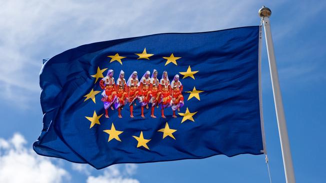 Пляски западных славян под дудку Евросоюза