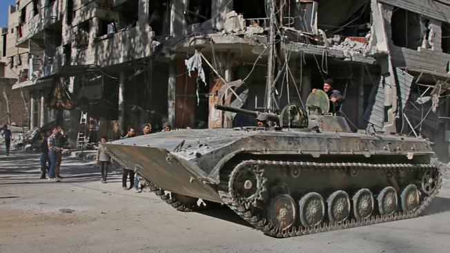 Война и мир в Дамаске: как живут и выживают сирийцы