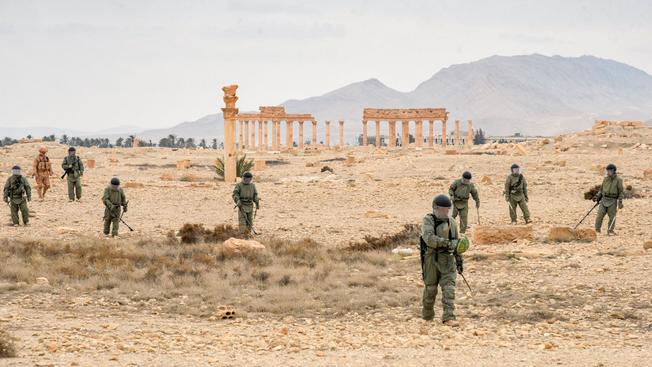 Полковник Александр Черный: «Сирия помогла понять, как должен быть экипирован наш сапер»