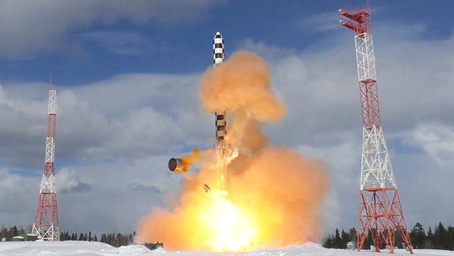 Ракета «Сармат»: до любой точки на Земле - рукой подать