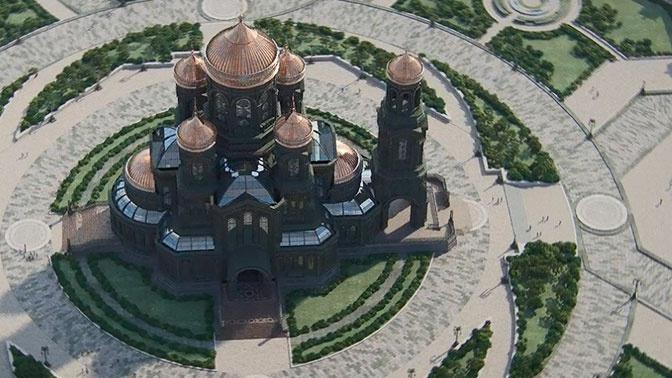 Объем пожертвований на Главный храм ВС России превысил 2 миллиарда рублей