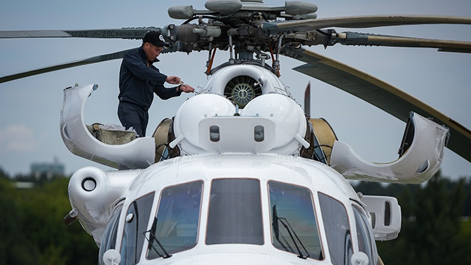 Российская санитарная авиация получит десятки вертолетов к 2021 году