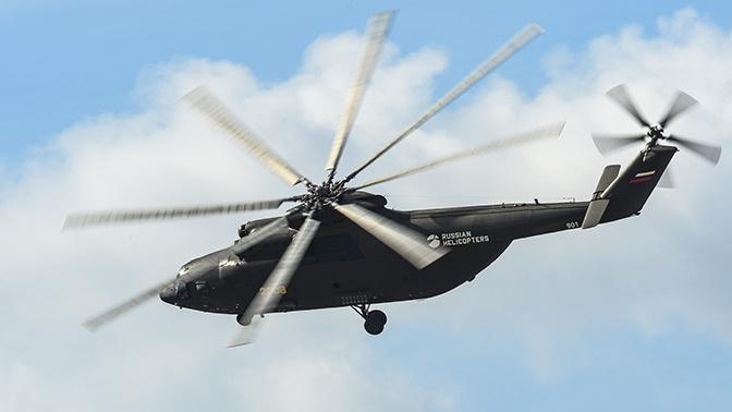 В «Вертолетах России» рассказали о планах госиспытаний Ми-26Т2В