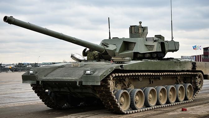 Стало известно, сколько танков «Армата» поступит в войска до конца года