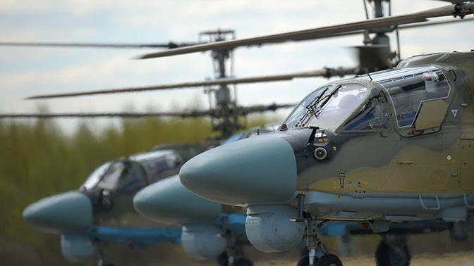 Борисов оценил ситуацию с производством Ка-52 «Аллигатор» для ВКС России