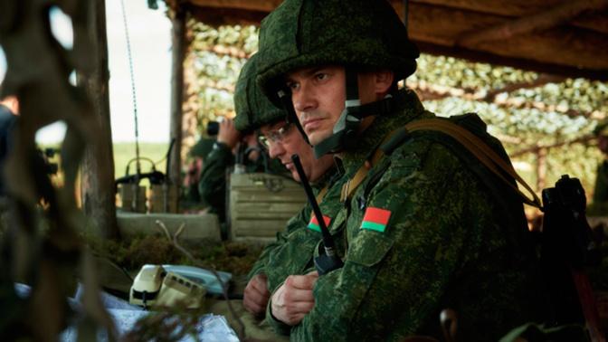 Командно-штабные учения с белорусскими военными начались в ЗВО