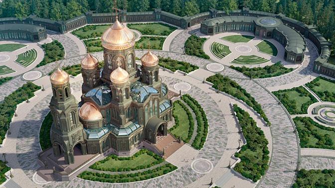 Песков рассказал о вкладе Путина в создание Главного Храма ВС России